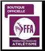 Partenaire officiel de la Fédération Française d'Athlétisme