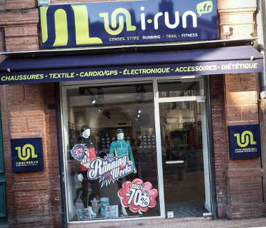 magasin i-Run toulouse centre